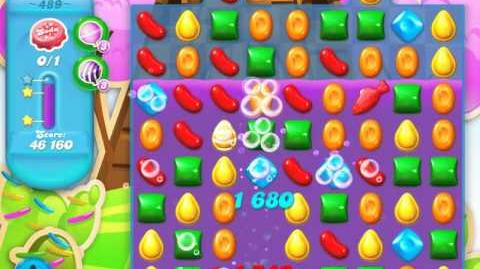 Candy Crush Soda Saga Level 489 (3 Stars)