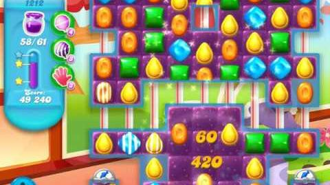 Candy Crush Soda Saga Level 1212 (buffed, 3 Stars)