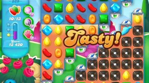 Candy Crush Soda Saga Level 869 (3 Stars)