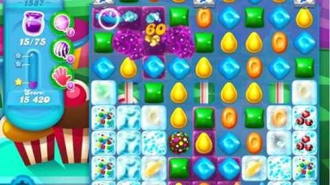 Candy Crush Soda Saga Level 1587 (3 Stars)