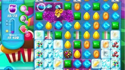 Candy Crush Soda Saga Level 1587 (3 Stars)