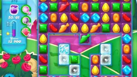 Candy Crush Soda Saga Level 878 (5th version)