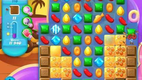 Candy Crush Soda Saga Level 110 (5th version, 3 Stars)