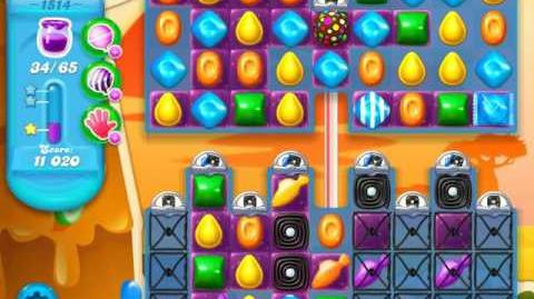 Candy Crush Soda Saga Level 1514 (3 Stars)