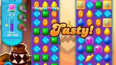 Candy Crush Soda Saga Level 1530 (2nd buffed, 3 Stars)