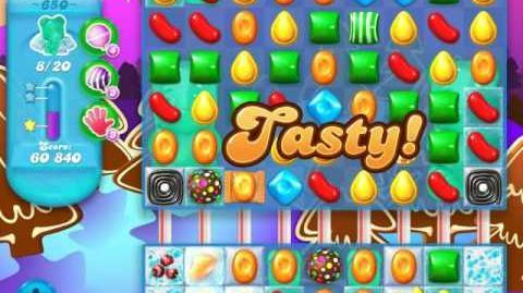 Candy Crush Soda Saga Level 650 (nerfed, 3 Stars)