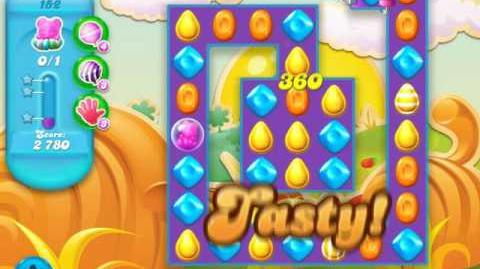 Candy Crush Soda Saga Level 152 (2nd version, 3 Stars)
