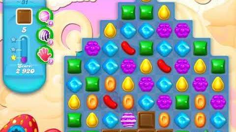 Candy Crush Soda Saga Level 31 (2nd version, 3 Stars)