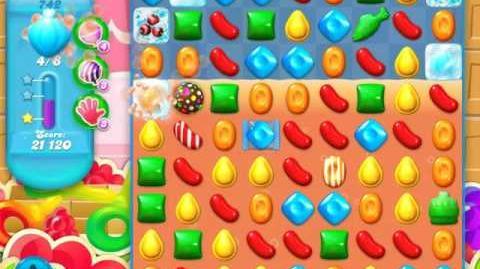 Candy Crush Soda Saga Level 742 (3rd version, 3 Stars)