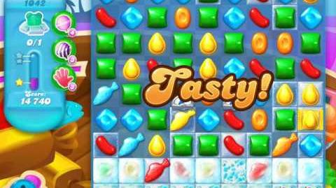 Candy Crush Soda Saga Level 1042 (5th version, 3 Stars)