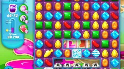 Candy Crush Soda Saga Level 1328 (nerfed)