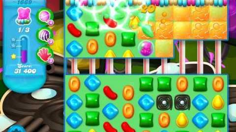 Candy Crush Soda Saga Level 1669 (nerfed)
