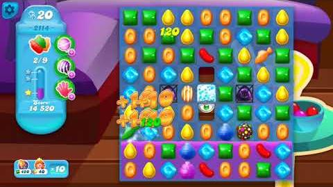 Candy Crush Soda Saga Level 2114