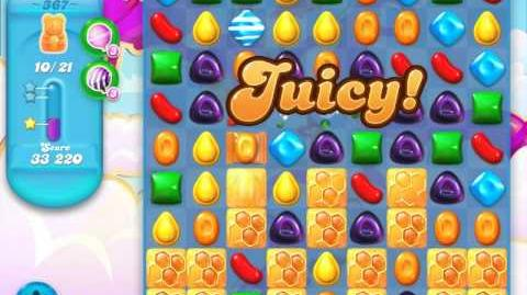 Candy Crush Soda Saga Level 367 (3 Stars)