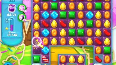 Candy Crush Soda Saga Level 484 (3rd version, 3 Stars)