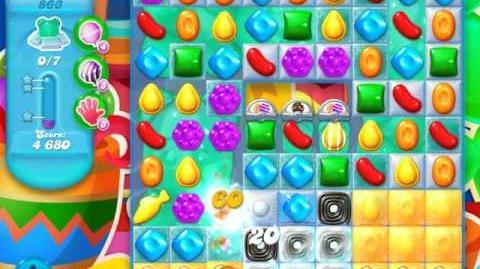 Candy Crush Soda Saga Level 863 (2nd nerfed)