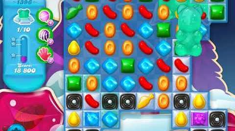 Candy Crush Soda Saga Level 1396 (nerfed, 3 Stars)
