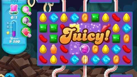 Candy Crush Soda Saga Level 1755 (buffed)