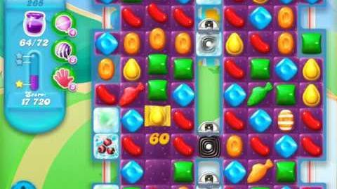 Candy Crush Soda Saga Level 265 (5th version, 3 Stars)