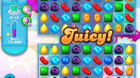 Candy Crush Soda Saga Level 370 (2nd nerfed, 3 Stars)