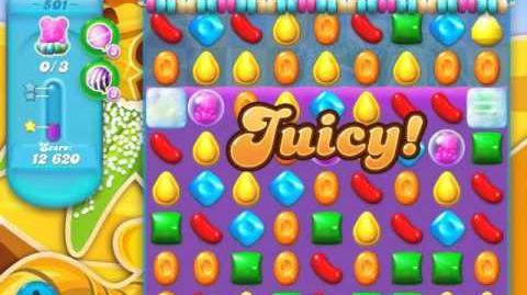 Candy Crush Soda Saga Level 501 (3rd version, 3 Stars)