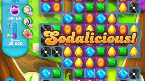 Candy Crush Soda Saga Level 605 (nerfed)