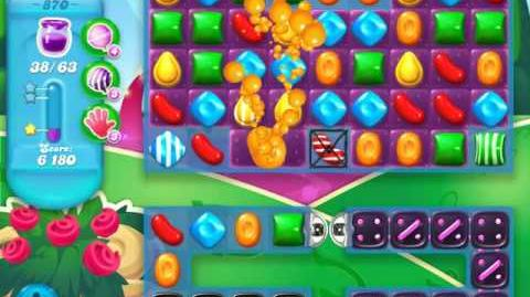 Candy Crush Soda Saga Level 870 (3 Stars)