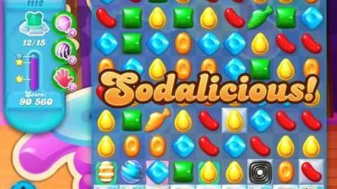 Candy Crush Soda Saga Level 1112 (5th version, 3 Stars)