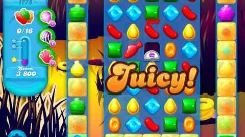 Candy Crush Soda Saga Level 1775 (3 Stars)