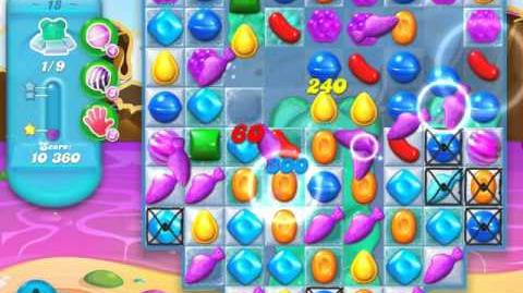 Candy Crush Soda Saga Level 18 (4th version, 3 Stars)