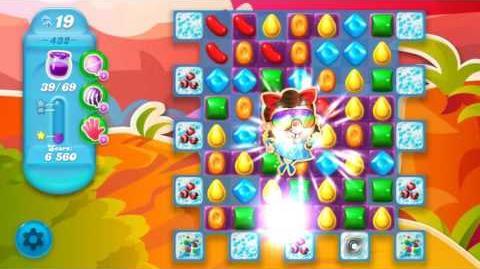 Candy Crush Soda Saga Level 432 (3rd version, 3 Stars)