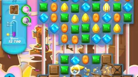 Candy Crush Soda Saga Level 66 (nerfed, 3 Stars)