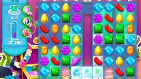 Candy Crush Soda Saga Level 1063 (buffed)