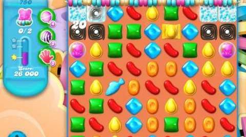 Candy Crush Soda Saga Level 750 (7th version, 3 Stars)