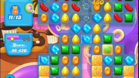Candy Crush Soda Saga Level 118 (buffed, 3 Stars)