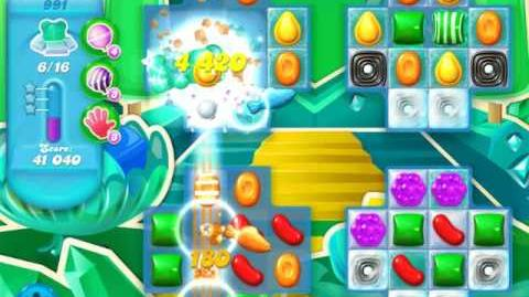 Candy Crush Soda Saga Level 991 (buffed, 3 Stars)