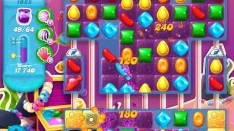 Candy Crush Soda Saga Level 1068 (7th version, 3 Stars)