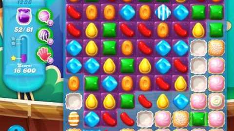 Candy Crush Soda Saga Level 1236 (6th version, 3 Stars)
