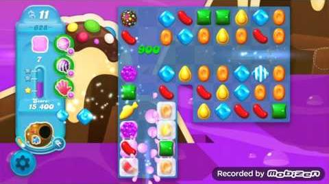 Candy Crush Soda Saga Level 628 (3 Stars)