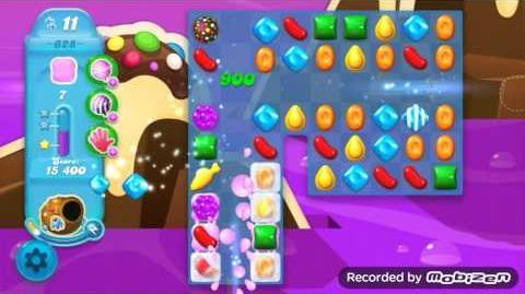 Candy Crush Soda Saga Level 628 (3 Stars)