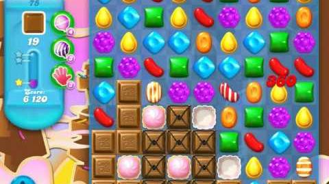 Candy Crush Soda Saga Level 75 (2nd nerfed, 3 Stars)