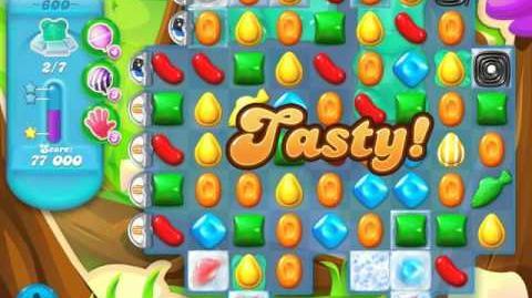 Candy Crush Soda Saga Level 600 (4th version, 3 Stars)