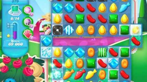 Candy Crush Soda Saga Level 879 (5th version)