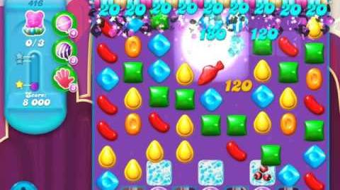 Candy Crush Soda Saga Level 416 (nerfed, 3 Stars)