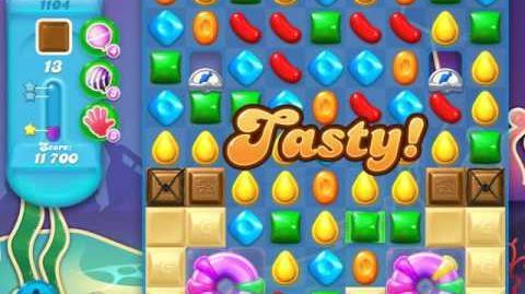 Candy Crush Soda Saga Level 1104 (6th version)