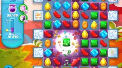 Candy Crush Soda Saga Level 432 (nerfed, 3 Stars)