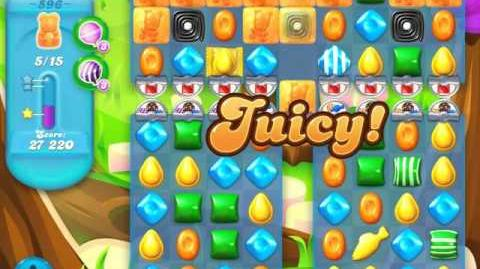 Candy Crush Soda Saga Level 596 (3 Stars)