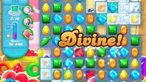 Candy Crush Soda Saga Level 726 (buffed, 3 Stars)