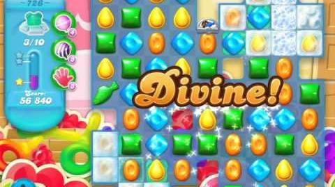 Candy Crush Soda Saga Level 726 (buffed, 3 Stars)