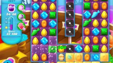 Candy Crush Soda Saga Level 1027 (7th version)